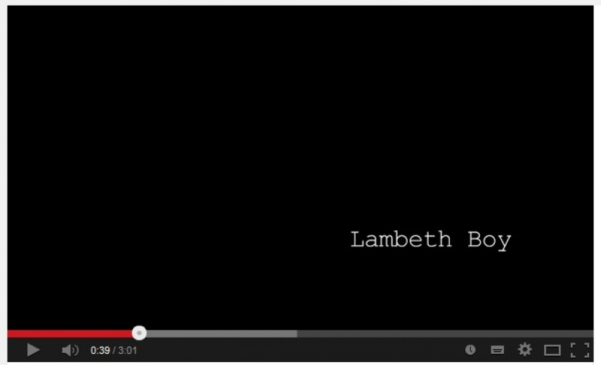 LAMBETH BOY featuring Jon Dartnell
