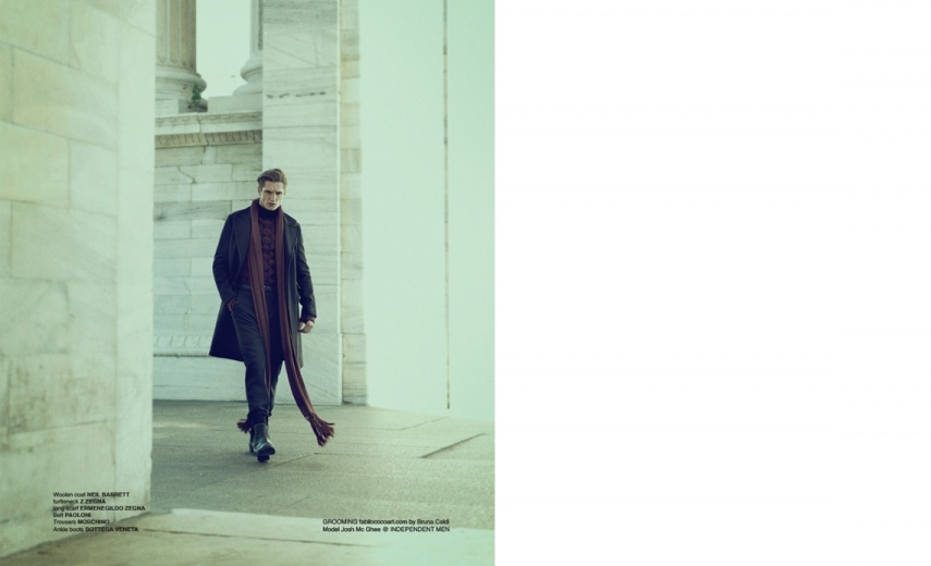 JOSH MCGHEE FOR POSH MAGAZINE