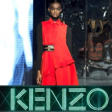 ADAU for KENZO and VIVIENNE WESTWOOD at PFW