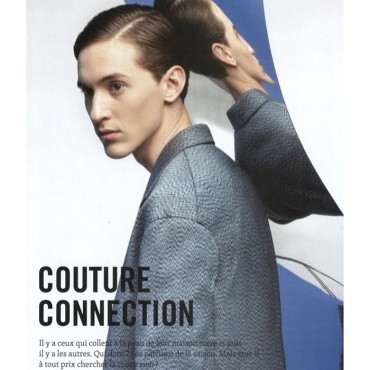 Christian Garcia for L'Equipe Sport & Style on The Fashionisto