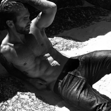 ANDRE HAMANN by Mo Gaff for The Fashionisto
