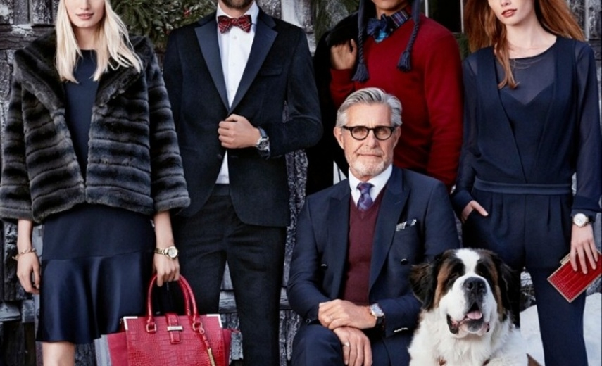 TOMMY HILFIGER celebrates the holidays starring BERNARD FOUQUET
