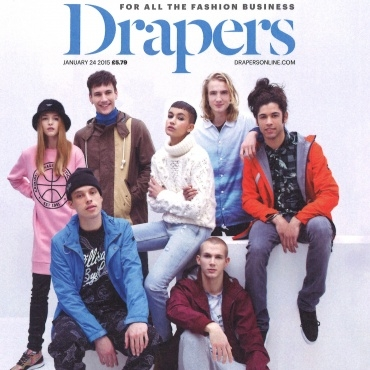 DRAPERS MAGAZINE Cover and Editorial