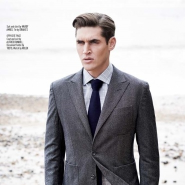 ISAAC CAREW for AUGUST MAN September Issue