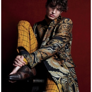 ALEXANDER FERRARIO FOR ESSENTIAL HOMME