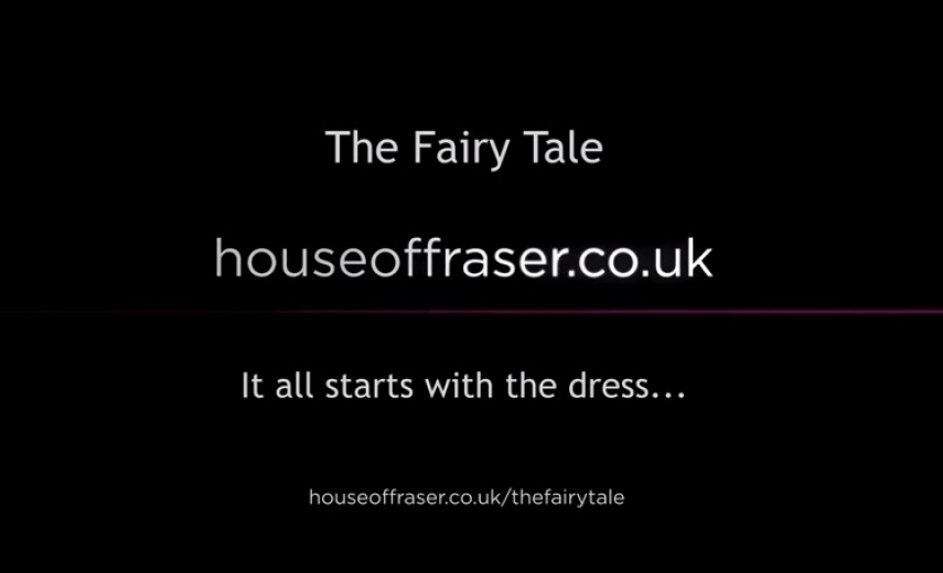 HOUSE OF FRASER 2014 Christmas Commercial.