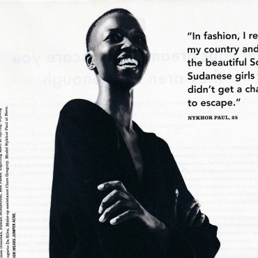 NYKHOR PAUL: i-D MAGAZINE