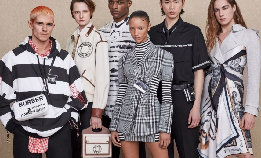 SHAWN GOLOMINGI: BURBERRY X PRINTEMPS