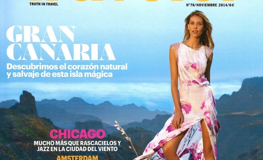 Conde Nast Traveller cover story featuring TALIDY
