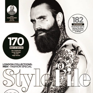 RICKI HALL for LOADED Magazine