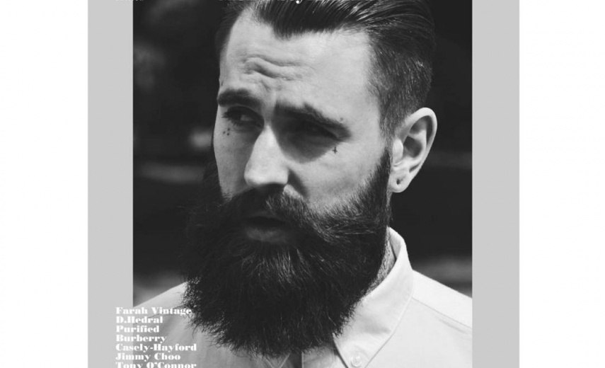 RICKI HALL for the cover of CLIENT MAGAZINE
