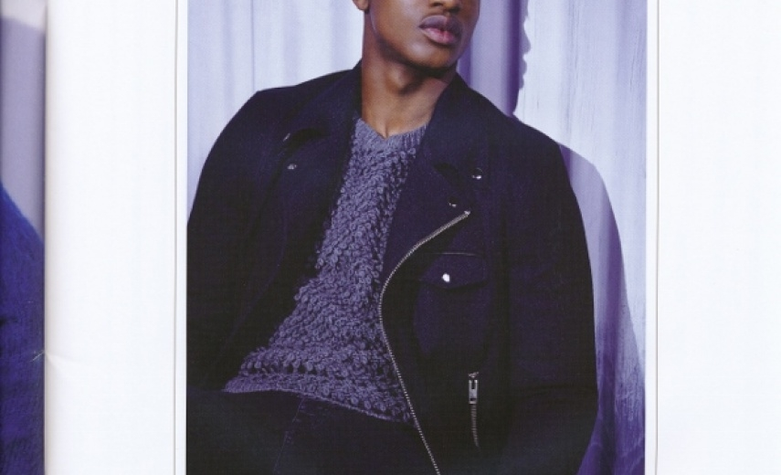 RIVER ISLAND LOOKBOOK featuring JEREMY BOATENG