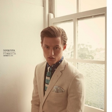 DAN HYMAN for MENS STYLE MAGAZINE