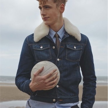 NUMERO HOMME - an editorial featuring TOM WEBB