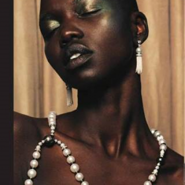 NYKHOR PAUL in Flaunt Magazine couture editorial