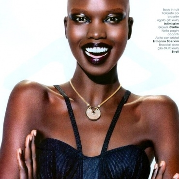 NYKHOR PAUL shoots for Glamour Italia by Ali Mahdavi