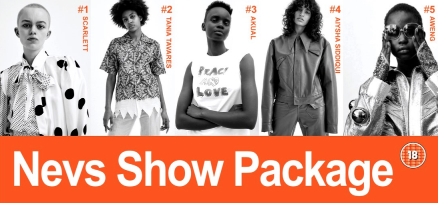 NEVS WOMENS SS19 SHOWPACK: NOW LIVE